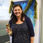 Jessica Johnson is the Winner of last months its a Knockout Award!